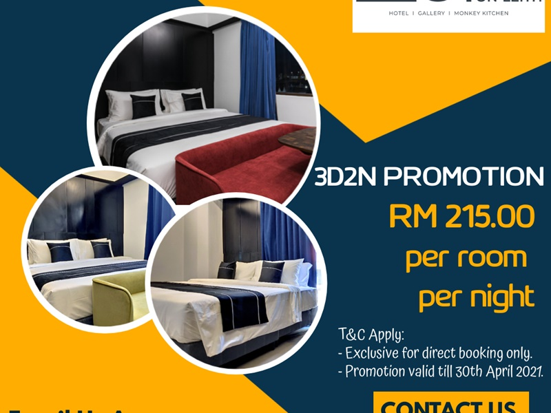 3 Days 2 Nights Package Promotion