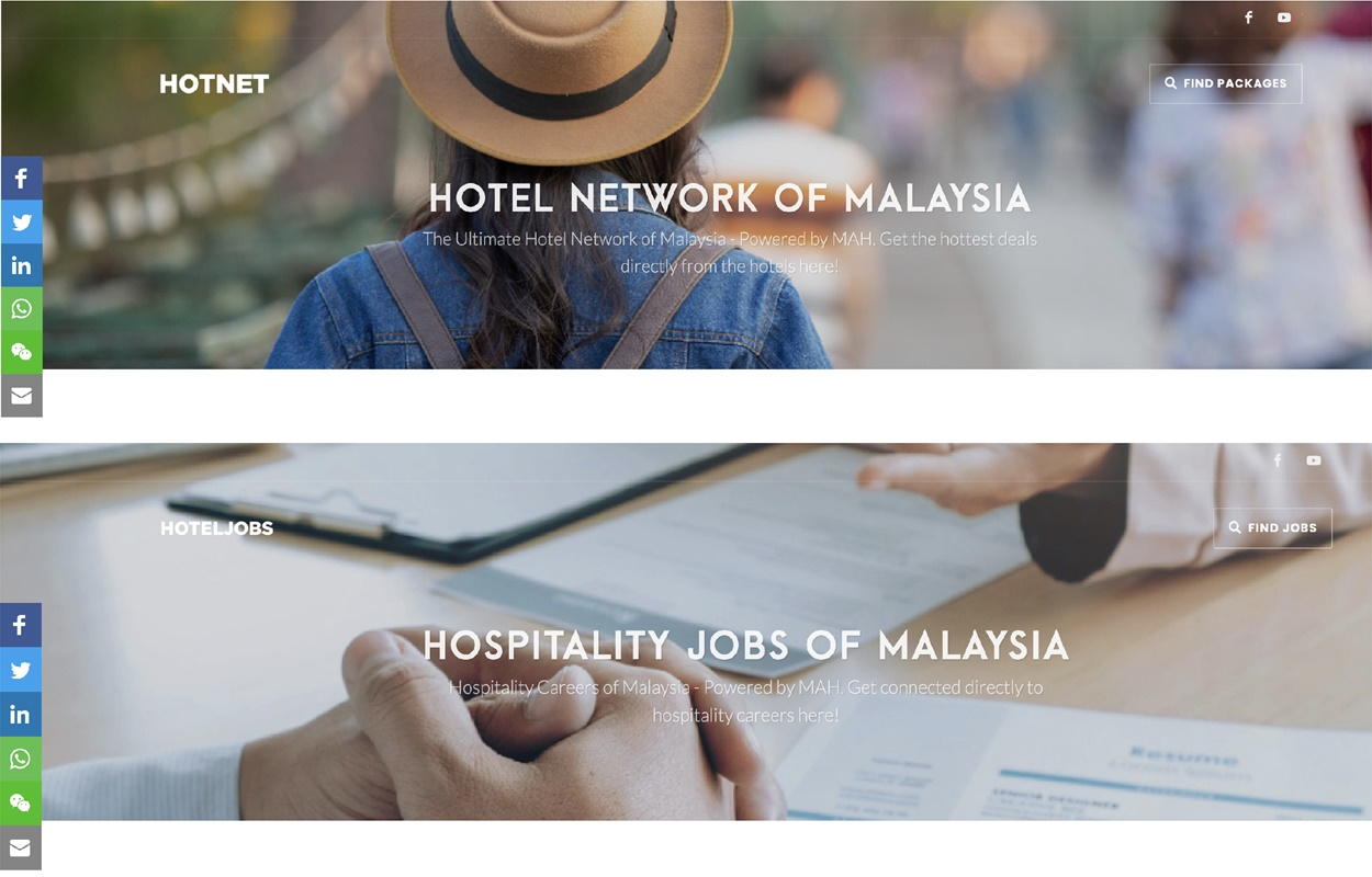Launching Of MAH hotnet.my & hoteljob.my